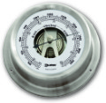 Ship's Barometer - Stainless Steel | Talamex Series 125 Ship's Instruments