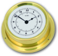 Ship's Clock - Brass | Talamex Series 125 Ship's Instruments
