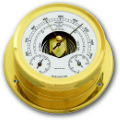 Ship's Barometer / Thermometer / Hygrometer - Brass | Talamex Series 165 Ship's Instruments