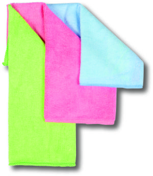 Cleaning Cloths - Pack of three