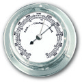 Ship's Barometer - Chrome Plated Brass | Talamex Series 110 Ship's Instruments