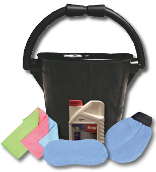 PVC Non Marking Bucket & Deck Cleaning Kit