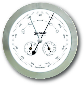 Talamex Weather Station - Stainless Steel | Talamex Ship's Instruments