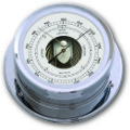 Ship's Barometer - Chrome Plated Brass | Talamex Series 165 Ship's Instruments