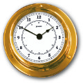Ship's Clock - Brass | Talamex Series 110 Ship's Instruments