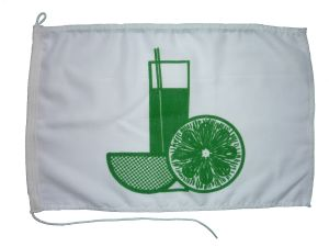 Compass Marine  Drinks Flag