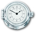 Ship's Clock - Chrome Plated Solid Brass | Talamex Series 115 Ship's Instruments